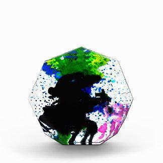 Goteos coloridos 5 de la pintura