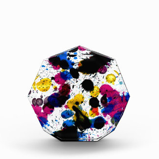 Goteos coloridos 7 de la pintura