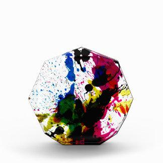 Goteos coloridos 8 de la pintura