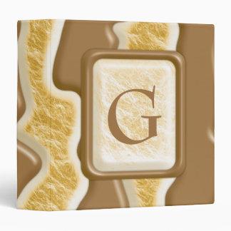 "Goteos - melcocha del chocolate carpeta 1 1/2"""