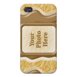 Goteos - melcocha del chocolate iPhone 4/4S carcasa