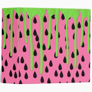 """Goteos verdes de neón de la pintura de la sandía carpeta 2"""""""