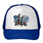 GotG Blue Group Graphic Hat