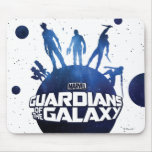 GotG Silhouette Poster Mousepads
