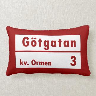 Götgatan Estocolmo placa de calle sueca