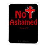 gotGod316.com negro no avergonzado Jesús Imán De Vinilo