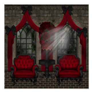 Goth 6  Wall Hanging Print Large