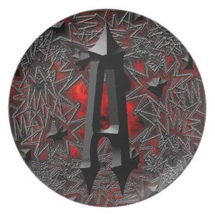 Gothic Letter Plates   Zazzle