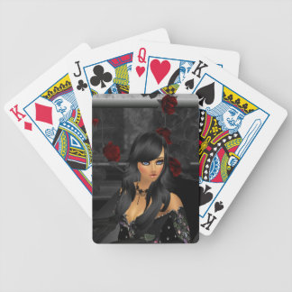 Goth Anime Playing Cards