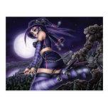 Goth Anime Witch Postcards