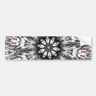 Goth at Heart Kaleidoscope Bumper Sticker
