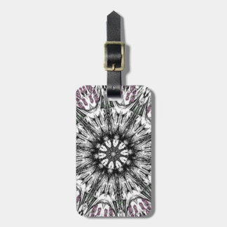 Goth at Heart Kaleidoscope Travel Bag Tag