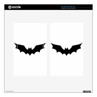 Goth Bat Decals For Kindle Fire