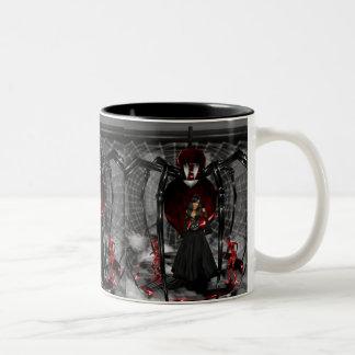 Goth Black Spider Mug