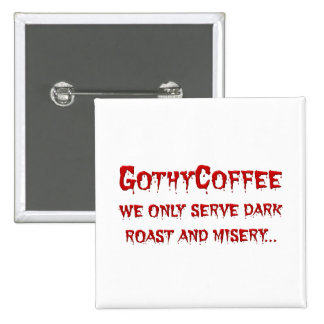 Goth Cafe Menu Button