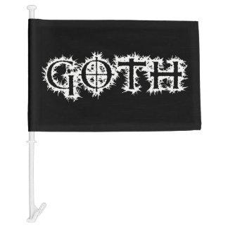 Goth Car Flag