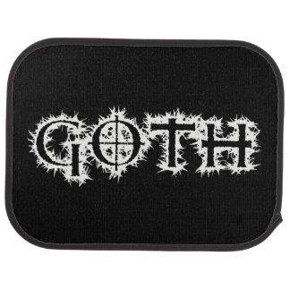 Goth Car Mat