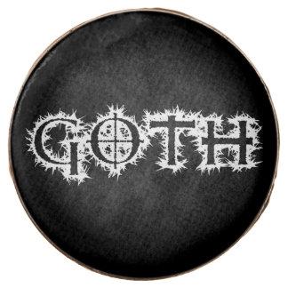 Goth Chocolate Covered Oreo