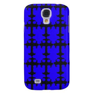 Goth Crcifix - Funky iPhone 3g Cases (blue) Galaxy S4 Case