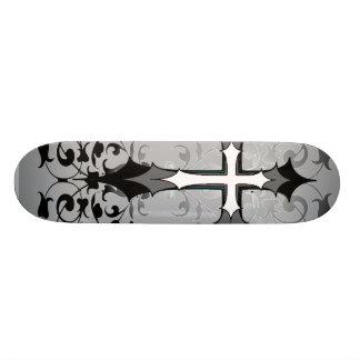 Goth Cross Skateboard Deck