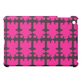 Goth Crucifix - Funky iPad Cases (pink)