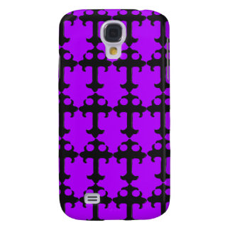 Goth Crucifix - Funky iPhone 3g Cases (purple) Samsung Galaxy S4 Covers