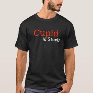 Goth Cupid is Stupid Anti Valentine's Day T-Shirt