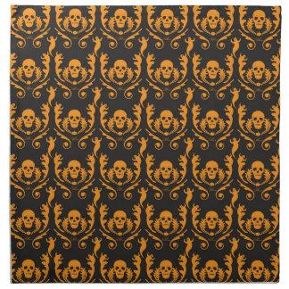 Goth Damask Cloth Napkin