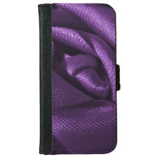 Goth Dark Purple Rose iPhone 6/6s Wallet Case