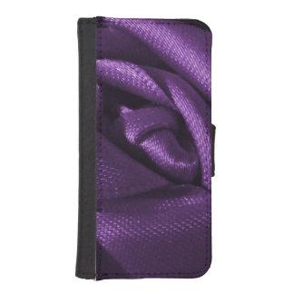 Goth Dark Purple Rose iPhone SE/5/5s Wallet