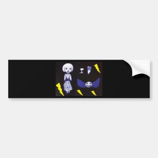 Goth Doll Bumper Sticker