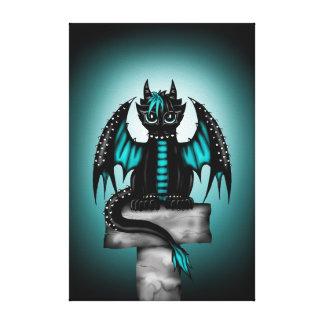 Goth Dragon Canvas Print