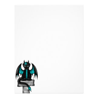 Goth Dragon Letterhead