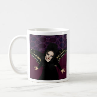 Goth Fairy on Sofa Mug