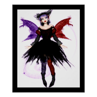 Goth Fairy Poster