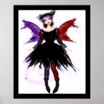 Goth Fairy Print