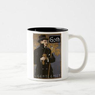 """""""GOTH FOR GENTLEMEN"""" Coffee Mug"""