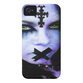 goth girl 14 iPhone 4 cover