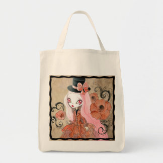 "Goth Girl : ""Abigail"" Tote Bag"