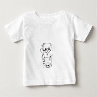 Goth girl baby T-Shirt