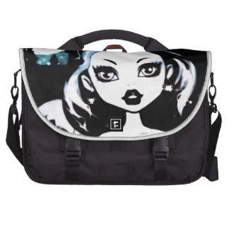 Goth Girl Bag For Laptop