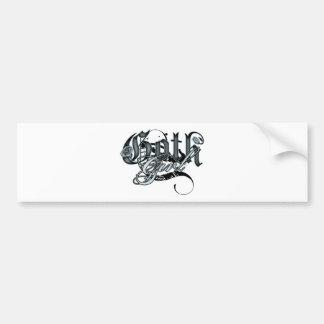 Goth Girl Bumper Sticker