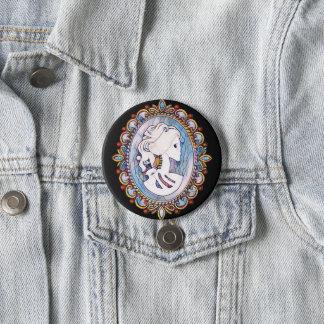 Goth Girl Button