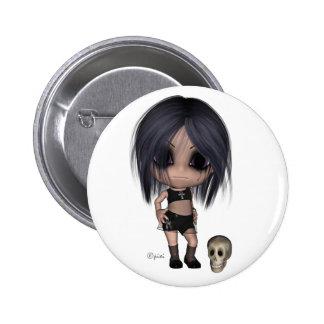 Goth Girl - Button