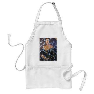 goth girl by sludge adult apron