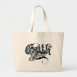 Goth Girl Canvas Bag