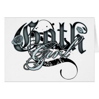 Goth Girl Cards