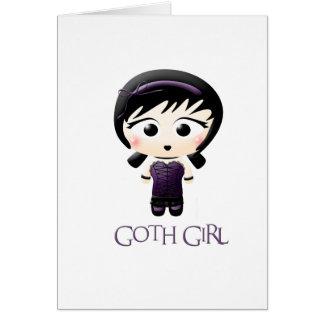 Goth Girl Card