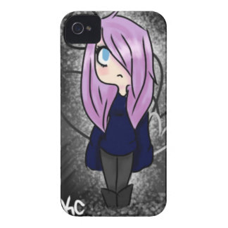 Goth Girl Case-Mate iPhone 4 Cases