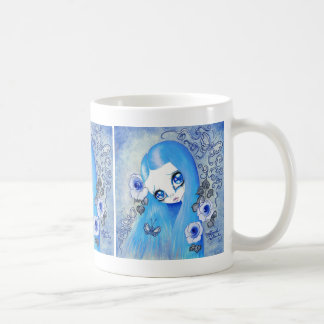 """Goth Girl : """"Christine"""" Coffee Mug"""